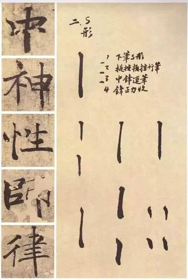笔法最丰富的唐楷《大字阴符经》详解!